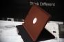 Коричневый вращающийся чехол для iPad Air 5 Smart Case 360