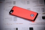 Красный чехол с аккумулятором для iPhone 5с Power Case 3000 mAh