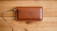 Коричневый кожаный чехол-кошелек для iPhone 6/6s/7 Handwers Ranch