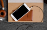 Коричневый кожаный чехол для iPhone 6/6s/7 Handwers Hike