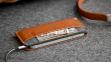 Темно-коричневый кожаный чехол-кошелек для iPhone 5/5s Handwers Portside