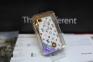 Белый чехол с аккумулятором для iPhone 4/4s Louis Vuitton 1800 mAh