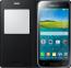 Черный кожаный чехол для Samsung Galaxy S5 Mini S View Cover