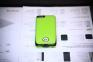 Зеленый чехол с аккумулятором для iPhone 5с Power Case 3000 mAh