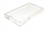 Прозрачный силиконовый чехол для iPhone 4/4s AVOC Ice Cube
