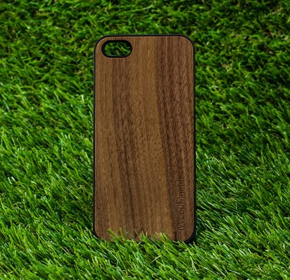 Чехол для iPhone 5/5s/SE Dark Wood Case -