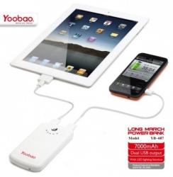 Портативное зарядное устройство Yoobao Power Bank 7000 mAh