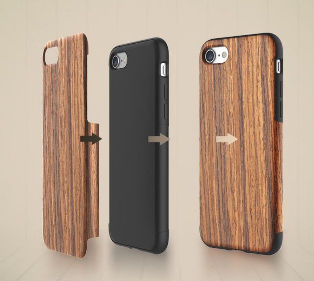 накладка для iPhone 7 Rock Grained Rosewood