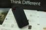 Черный чехол флип-кейс для iPhone 4/4s Griffin Flip Case