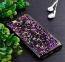 Черный чехол-накладка для iPhone 7/8 Plus Sparkle Foil Case Purple/Gold