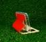 Красный чехол-книжка с окном для Samsung Galaxy S5 Armor View Case
