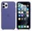 Чехол для iPhone 11 Pro Max Silicone Case силиконовый цвета синей стали