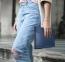 Синий кожаный чехол для Macbook Pro 13 2016 - 2020 Dux Ducis Hefi Series