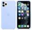 Чехол для iPhone 11 Pro Silicone Case силиконовый бело-голубой