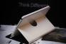 Белый вращающийся чехол для iPad Air 5 Smart Case 360