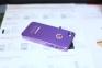 Фиолетовый чехол-накладка на iPhone 4/4S Monster Beats
