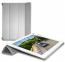 Серый кожаный чехол для iPad 2/3/4 Puro Zeta Cover Case