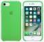 Зеленый силиконовый чехол для iPhone 7/8 Silicone Case