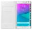 Белый кожаный чехол для Samsung Galaxy Note Edge Flip Wallet Case
