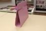Розовый кожаный чехол книжка для iPad 2/3/4 Sitifa Lively Case