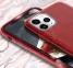 Чехол для iPhone 11 Pro Max Sparkle Case силиконовый красный