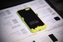 Желтый чехол аккумулятор для iPhone 5/5S/5C Power Case 3000mAh