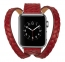 Красный ремешок для Apple Watch 38/40 mm Genuine Leather Band