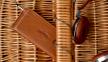 Темно-коричневый кожаный чехол-кошелек для iPhone 5/5S/SE Handwers Portside