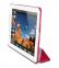 Малиновый кожаный чехол для iPad 2/3/4 Puro Zeta Cover Case