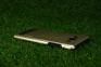 Золотистый алюминиевый чехол для Samsung Galaxy A5 Motomo Case
