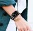 Нейлоновый ремешок для Apple Watch 42/44 mm Черная полоска