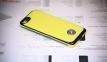 Желтый чехол с аккумулятором для iPhone 5с Power Case 3000 mAh