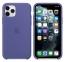 Чехол для iPhone 11 Pro Silicone Case силиконовый цвета синей стали