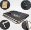 Серая сумка для Macbook Air/Pro 13 WiWU Athena Sleeve
