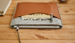 Коричневый кожаный чехол-конверт для iPad Mini Handwers Welt