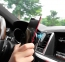 Черный магнитный автомобильный держатель в воздуховод Hoco CA37