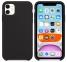 Чехол для iPhone 11 Totu Silicone Case силиконовый черный