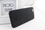 Черный силиконовый чехол-накладка для iPhone 6 Xmart Professional