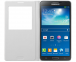 Белый кожаный чехол-книжка для Samsung Galaxy Note 3 S View Cover EF-CN900BWEGRU