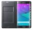Черный кожаный чехол для Samsung Galaxy Note Edge Flip Wallet Case