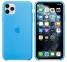 Чехол для iPhone 11 Pro Silicone Case силиконовый ярко-голубой