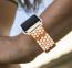 Золотой металлический ремешок для Apple Watch 38/40 mm Fish Scales