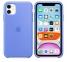 Чехол для iPhone 11 Silicone Case силиконовый голубой