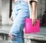 Розовый кожаный чехол для Macbook Pro 13 (2016-2018) Dux Ducis Hefi Series