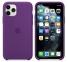 Чехол для iPhone 11 Pro Max Silicone Case силиконовый фиолетовый
