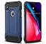 Синий противоударный чехол для iPhone X/XS Fashion Case