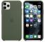 Чехол для iPhone 11 Pro Max Silicone Case силиконовый цвета хаки
