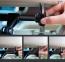 Черный автодержатель для планшета с креплением на подголовник Rock Car Headrest Mount (Universal)