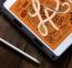 Коричневый силиконовый чехол для iPad Mini 5 Sleo with Pencil Slot