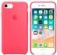 Ярко-розовый силиконовый чехол для iPhone 7/8 Silicone Case